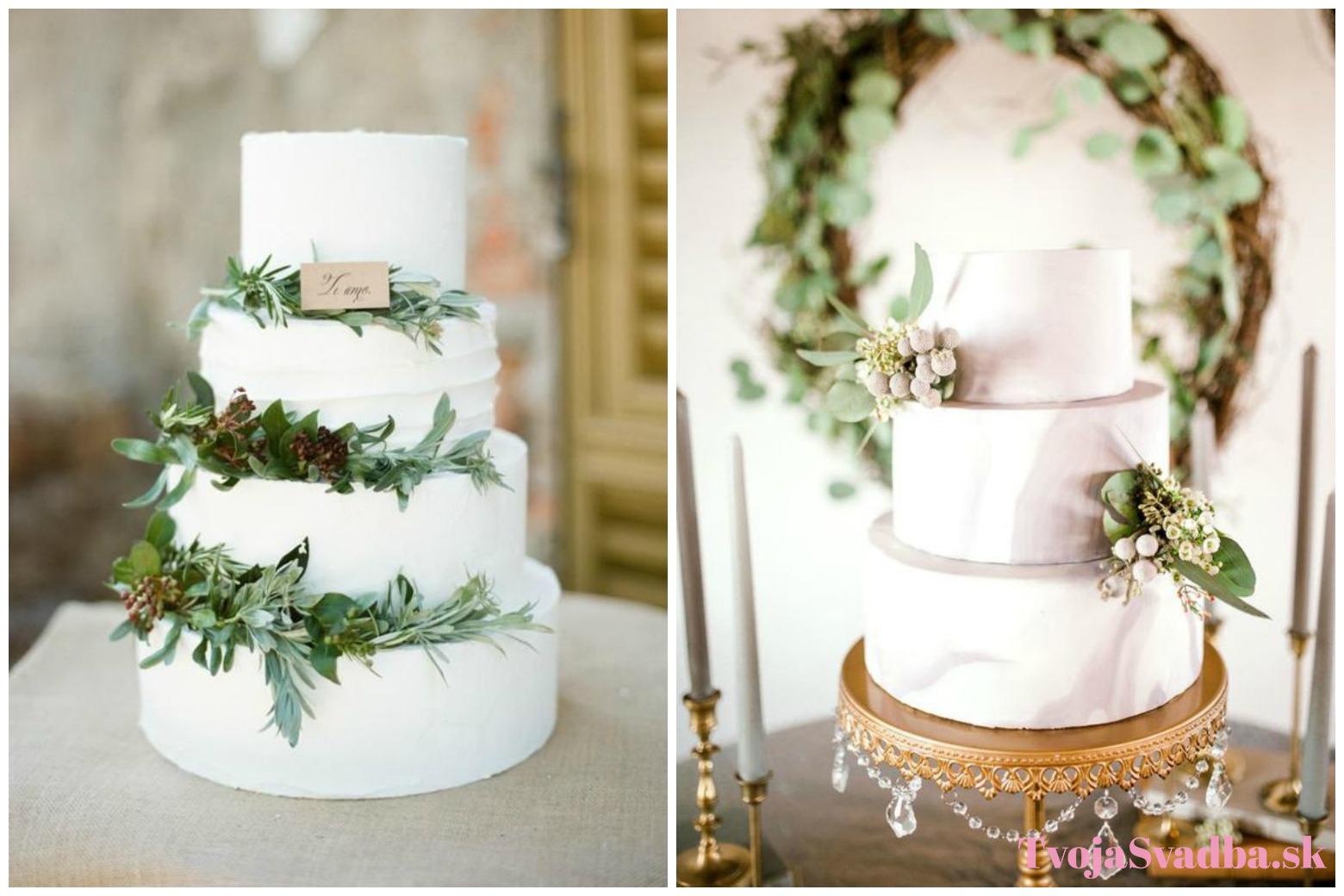 de434ebdd9 svadobná torta greenery