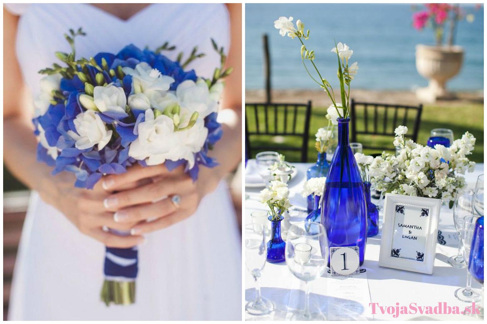 7f7b2b84b Kráľovská modrá: Bude kraľovať aj vo vašej svadobnej výzdobe ...