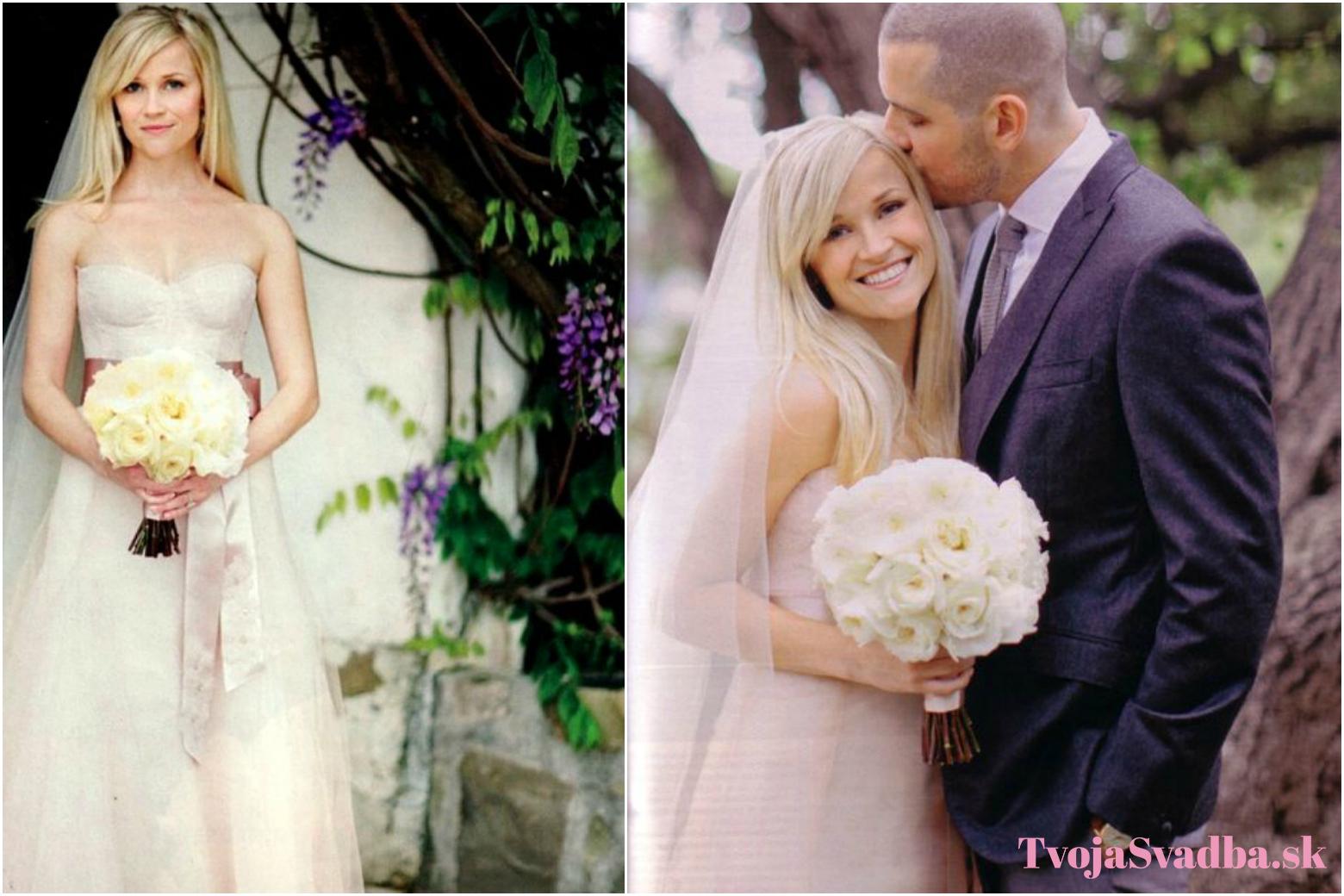 Farebné svadobné šaty celebrít  Pretože svadba nemusí byť len biela ... ba6ab7f1c4c